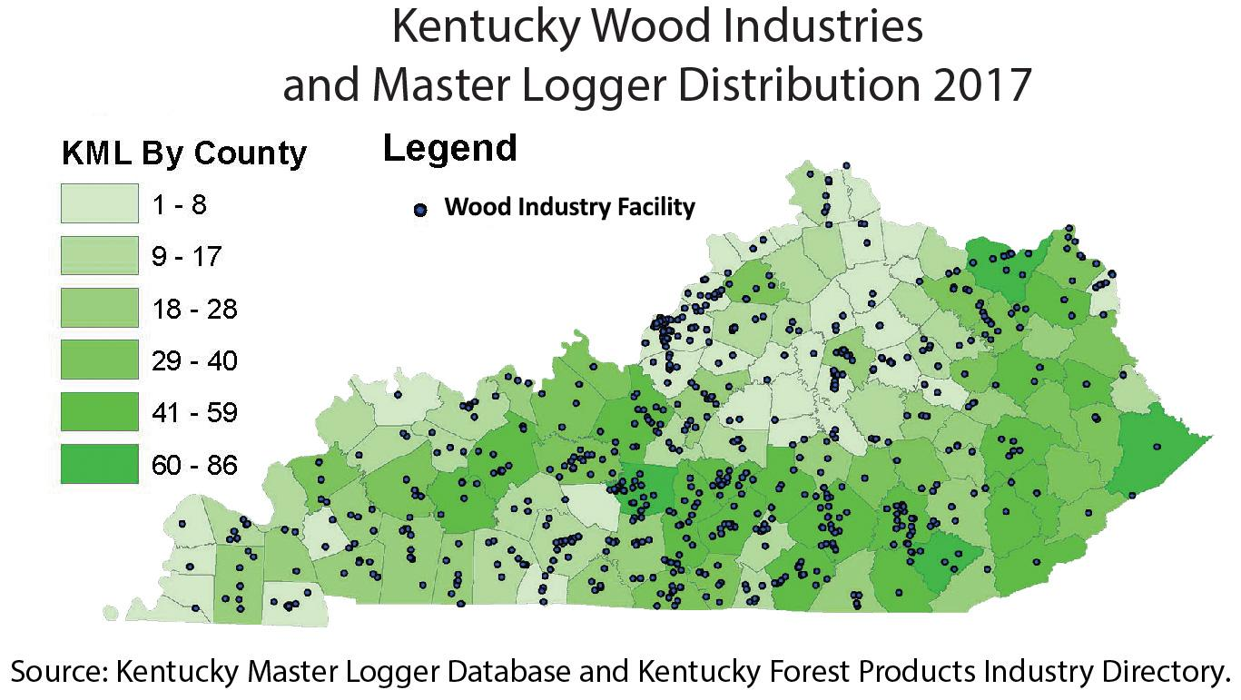 2017 Ky Wood Industries and Master Logger Distribution