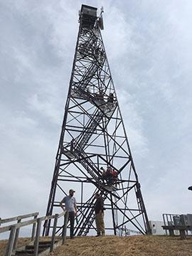 Photo of Fire Tower at Robinson Forest