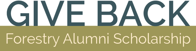 Give Back - Forestry Alumni Scholarship