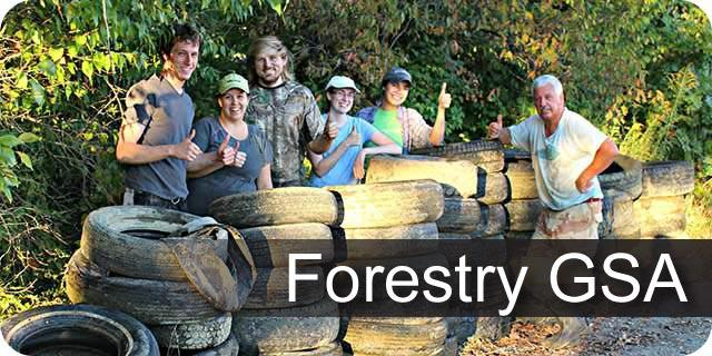 Learn more about the UK Forestry Graduate Student Association