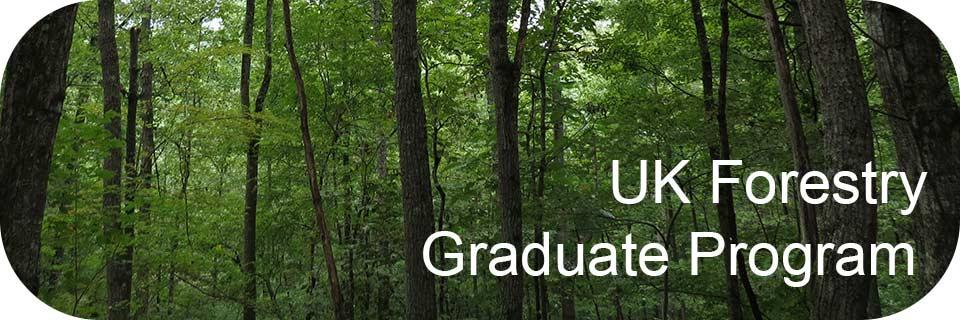 Information on UK Forestry Graduate Program