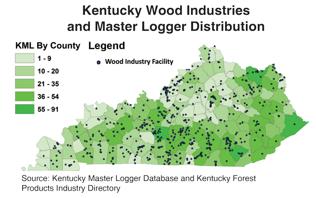 Kentucky Wood Industries and Master Loggers Distribution