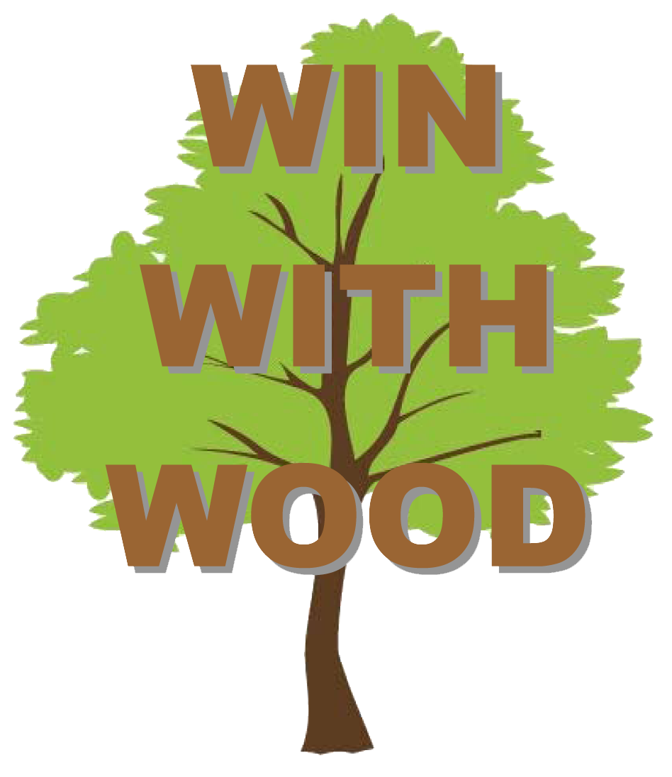 Win With Wood logo