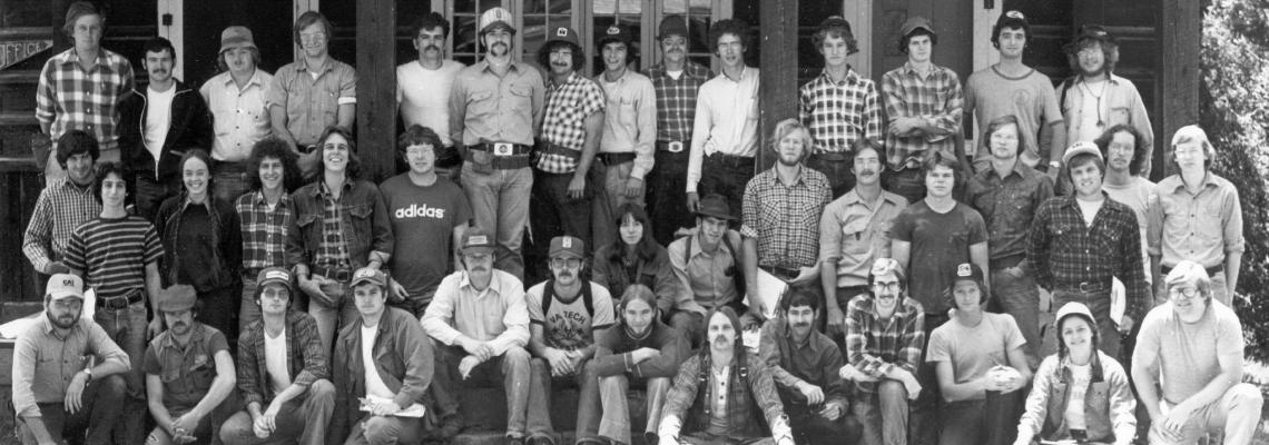 Photo of 1976 Forestry Camp