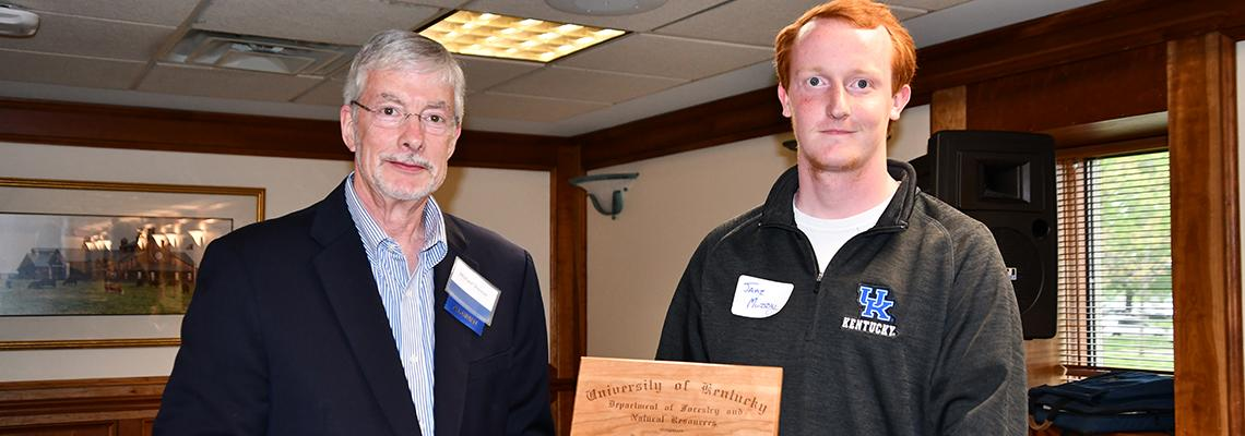 Photo of 2019 Forestry Alumni Scholarship Recipient