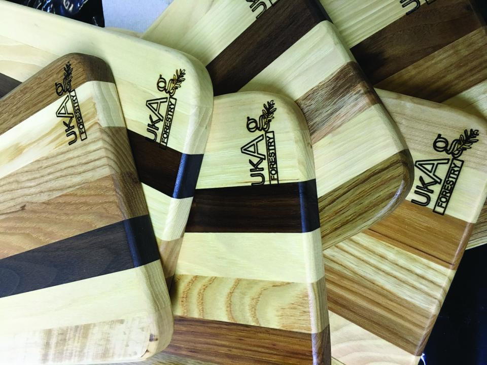 Photo of wood products - cutting boards