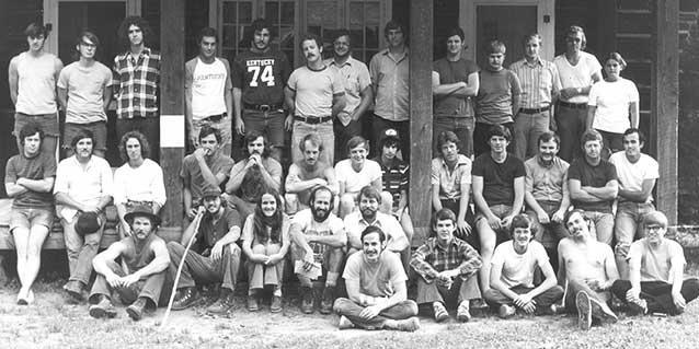UK Forestry Alumni – Summer Camp 1974
