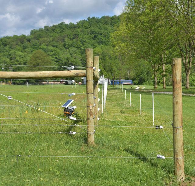 Permanent fence