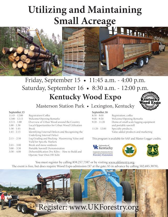 Kentucky Wood Expo | Forestry and Natural Resources
