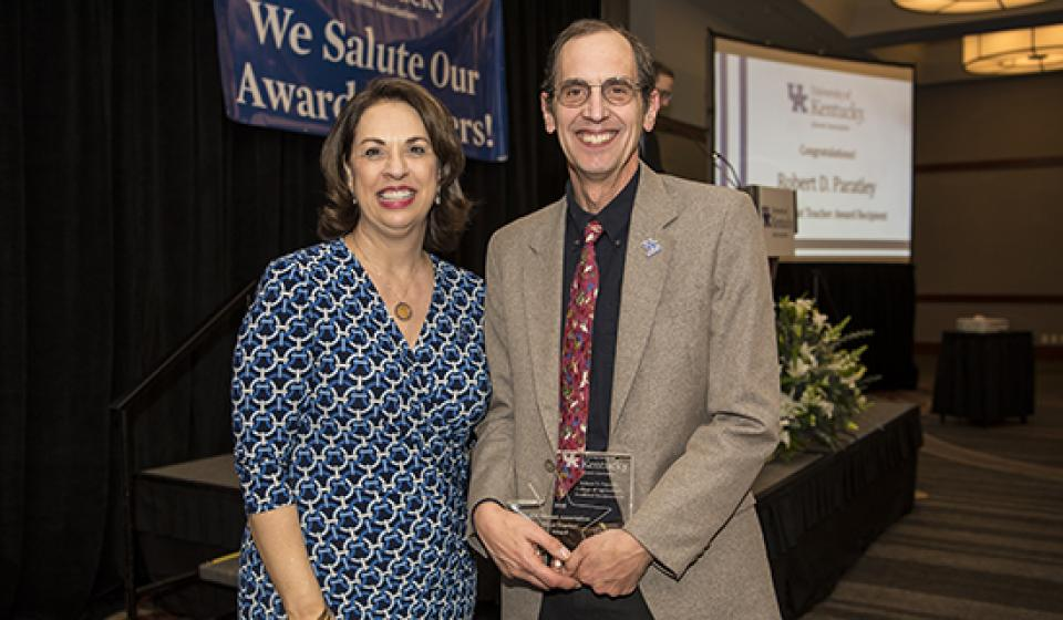 Great Teacher Award - Rob Paratley